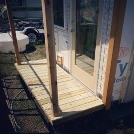Porch decking!