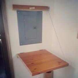 standing-height desk