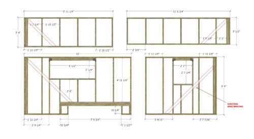 Tiny House Wall Framing