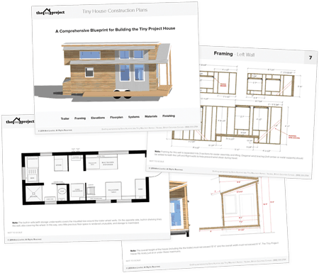 Tiny Project Tiny House Construction Plans