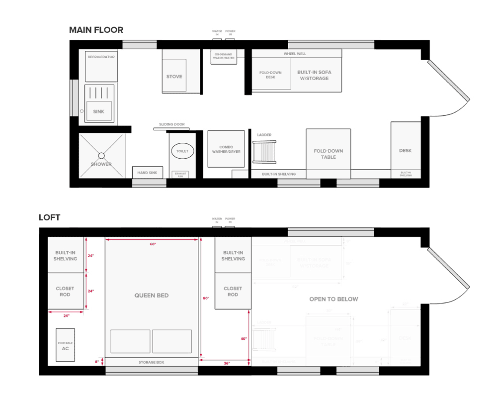 Tiny Project Tiny House Floor Plans Construction Pdf Sketchup