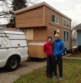 Tiny house towing