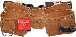 leather 5 pocket tool belt