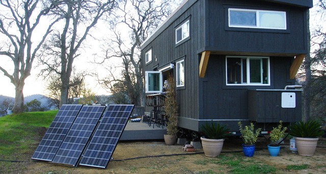 A SolMan Classic and Tiny Home in California