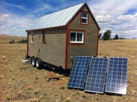 A SolMan Classic and Tiny Home in Colorado
