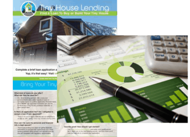Tiny House Financing / Loans