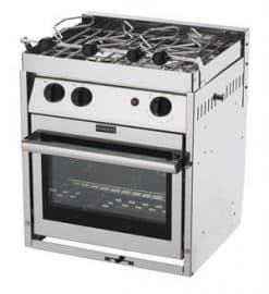 Force 10 Three-Burner Gourmet Galley Gimbaled Propane Ranges