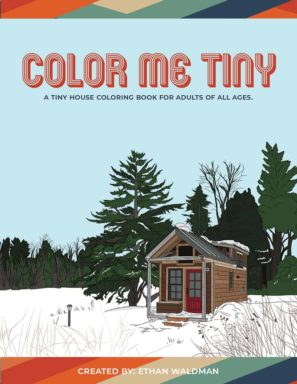 Color Me Tiny tiny house coloring book