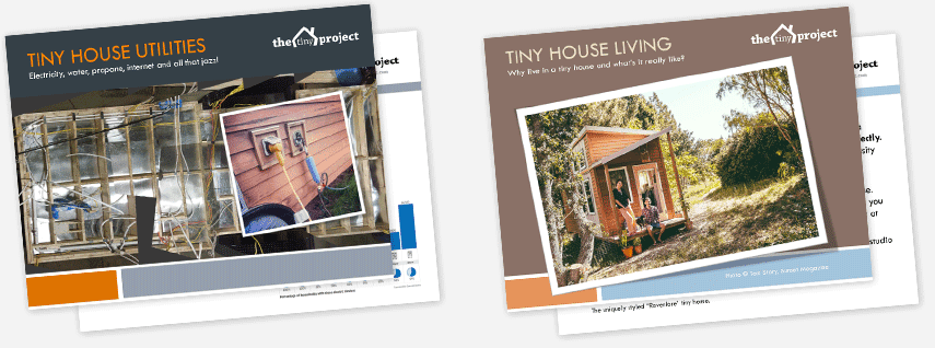 Get 2 FREE Tiny House Guides