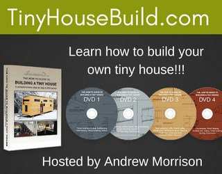 Tiny House Build DVDs by Andrew Morrison
