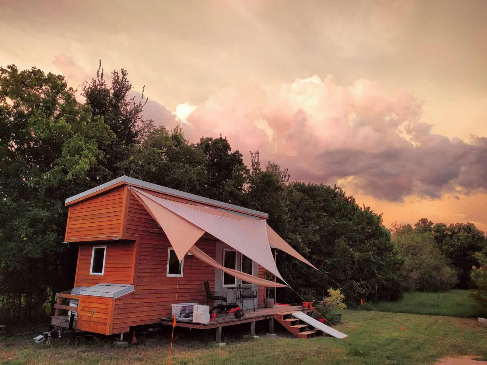 Alek Lisefski Tiny House completed house photos! - the tiny project